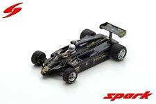 Spark F1 Lotus 91 Geoff Lees 1/43 French GP 1982