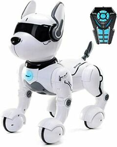 Interactive Remote Control Pet Robot Stunt Dog Puppy Educational Toy Gift Kids