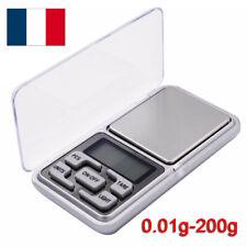 Balance de précision électronique Pèse de Poche Scale Bijoux herbe 0.01g 200g