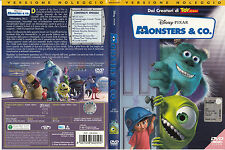 Monsters & Co. (2001) DVD - EX NOLEGGIO - OLOGRAMMA TONDO