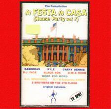 """COMPILATION """" LA FESTA IN CASA (HOUSE PARTY 1) """" MUSICASSETTA SIGILLATA  (MC K7)"""