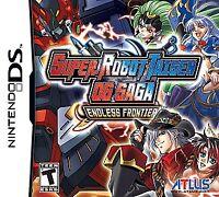 Super Robot Taisen OG Saga: Endless Frontier (Nintendo DS, 2009) GAME CARD ONLY!
