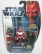 Star Wars Clone Wars CW18 Clone Commander Fox Movie Heroes