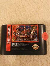 Sega Genesis Game Romance Of The III Kingdoms Dragon Of Destiny