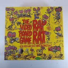 Vintage Rap Rat The Video Board Game By A Couple A Cowboys 1992 COMPLETE