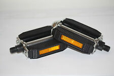 Dragster Lowrider Bike Bicycle Pedals Steel PVC Blocks Retro 9/16 Inch Part 3515