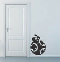 BB8 Wall Decal Decor, Star Wars Wall Decal, Force Awakens Wall Stickers, g74