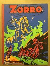 ZORRO Hebdomadaire - Reliure numéro 14 (du 271 au 286) - 1951 - TBE/NEUF