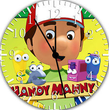 Handy Manny Frameless Borderless Wall Clock For Gifts or Home Decor E133
