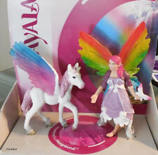 Bayala Lis and Pegasus Foal Elf Fairy Figurine Schleich Figure 70484 Retired