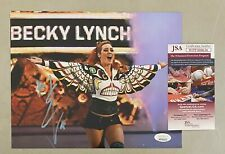Becky Lynch Signed 8x10 WWE Photo Autographed JSA WITNESSED COA