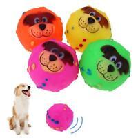 Cute Lion Ball Toy Pet Dog Training Soft Dog Throwing Train Sound Toys