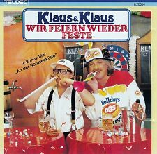 KLAUS & KLAUS : WIR FEIERN WIEDER FESTE / CD - TOP-ZUSTAND