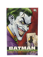 2008 DC Comics Detective Batman Joker Collection Book: Batman The Man Who Laughs