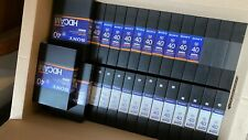 SONY BCT40HD HDCAM DIGITAL VIDEO CASSETTE LOT OF 10 (Used 1 time)