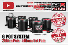 6 Pot 20l RDWC ProFlow Undercurrent Hydroponics Bubble System Not Exodus IWS DWC