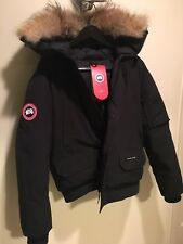 Canada Goose Men's Chilliwack Down Bomber Jacket Black Size M *FRESH WITH TAGS