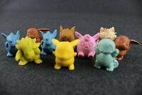 Lotto 10 Sorpresine GOMMA POKEMON MR DAY Parmalat da collezione Action Figure