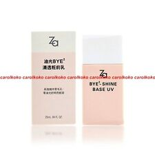 NEW SHISEIDO ZA Bye Bye Shine UV Foundation Makeup Primer SPF25 PA+++ 25ml