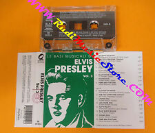 MC ELVIS PRESLEY Vol.3 LE BASI MUSICALI italy QUALITY RECORDS no cd lp dvd vhs