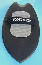 RYNO DART twin fins handplane handboard body surfer board with free wrist leash.