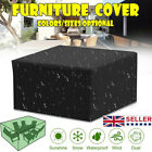 Waterproof Garden Patio Furniture Cover Rattan Table Cube Seat Covers Outdoor Uk