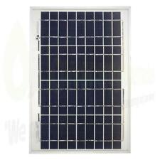 10w Lowenergie Solar Panel Poly-Crystalline PV Photo-voltaic Boat Caravan Home