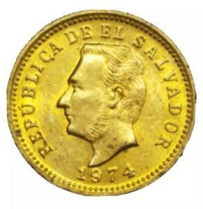 1974 EL SALVADOR 3 CENTAVOS KM 148  ODD DENOMINATION COIN XF+ AU