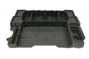 NEW OEM GM Rear Cargo Area Organizer Tray Black 12497983 Trailblazer Envoy 02-09