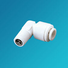 """Quick Connect Check Valves 1/8"""" mpt x 1/4"""" Elbow"""