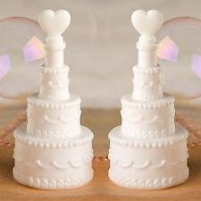Bolle di sapone torta MATRIMONIO wedding bag sposa bomboniere segnaposto 24pz