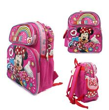 """Disney Minnie Mouse 12"""" Back to School Backpack Small Bag NEW"""