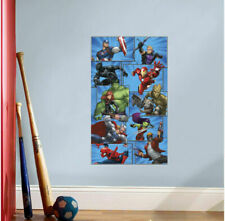 Marvel Heroes Collection Vinyl Print Poster Wall Sticker Kids Mural Decal Decor