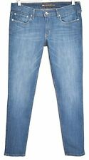 Ladies Levis SKINNY Slight Curve Mid Rise BLUE Stretch Jeans Size 12 W30 L32