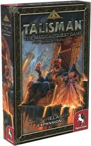 Talisman Board Game 4th Edition: The Firelands Expansion