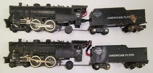 American Flyer Lot of 2 302AC Steam Engine Parts Repair Restore No Reserve !