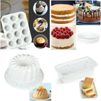 Silicone Large Cake Mold Toast Loaf Chocolate Bakeware Bread Pans Baking Moulds