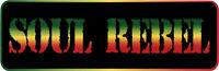 Soul Rebel - Small Bumper Sticker / Decal