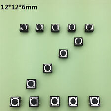12x12x6MM 4PIN G83 Tactile Tact Push Button Micro Switch Self-reset DIP Copper