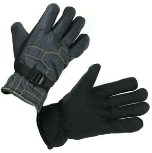 Rugged Camo Insulated Lined Winter Ski Gloves Grip Kentucky Tactical Supply Gray