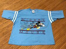 Medium - Vtg 80s Nos Mickey Mouse Disney Single Stitch 1/2 T-shirt Usa