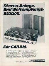 ITT-Schaub-Lorenz-II-1970-Reklame-Werbung-vintage print ad-Vintage Publicidad