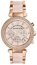 New Authentic Ladies Michael Kors MK5896 Parker Watch Warranty RRP $449