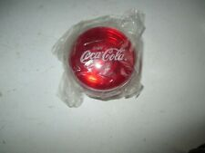 Vintage NEW COCA COLA YOYO  SEALED Clear Plastic