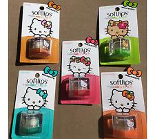 Softlips Hello Kitty 5 pack Peach Mango,Vanilla, Mint,Coconut Cream, Strawberry