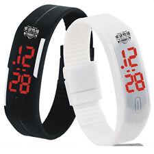 Fashion Anime Tokyo Ghoul Sport Bracelet Watch LED Wrist Band Gift Waterproof