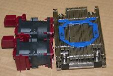 New HP DL360 DL360p G9 Xeon CPU Kit, Heatsink 734042-001 & 2 Fans 750688-001