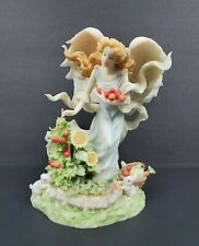 """Seraphim Classics Brittany """"In the Harvest Garden"""" 83025 Angel Picking Tomatoes"""