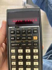 Lot De 3 Calculatrice Pour Piece Hewlett Packard 31e.sanyo,texas Instrument