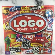 The LOGO Board Game The Board Game About The Brands You Love!